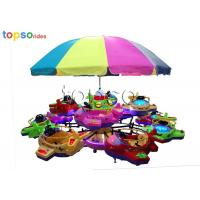 Wholesale Indoor And Outdoor 12 - Seat Kids Amusement Rides Rotary Lifting Small Aircraft from china suppliers
