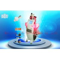 Wholesale 5 In 1 Vertical Cryolipolysis Slimming Machine With Cavitation / RF / Lipo Laser / Velashape from china suppliers