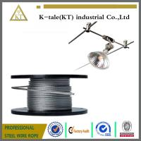 Wholesale Wholesale galvanized steel Wire Rope, aircraft Cable 6mm 7*19 High Strength from china suppliers