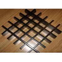 Wholesale Project / Home Decoration Open Cell Ceiling Customized Aluminum Grid Panels from china suppliers