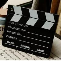 Wholesale low price HOLLYWOOD FILM PROP HOME MOVIE ACTION SCENE DIRECTORS TAKE CLAPPER BOARD from china suppliers