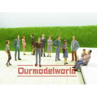 Wholesale Train Layouts Architectural Scale Model People Green Yellow Green from china suppliers