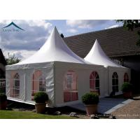 Wholesale Portable But Durable Pyramid Pagoda Tents / Aluminium Frame/ PVC Fabric Covers from china suppliers
