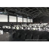 Wholesale Portable Large Clear Span Fabric Structures Black PVC Fabric Roof Cover from china suppliers
