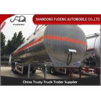 Wholesale 55CBM Three Axles Fuel Tanker Semi Trailer Aluminum alloy / Carbon Steel Body from china suppliers