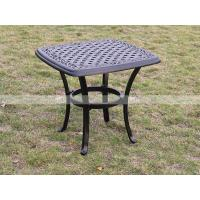Wholesale BML12253 alumicast square side table modern rattan coffee table set from china suppliers