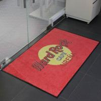 Wholesale Customized Logo Mat, Doormat, 100% Nyon Printed Mat with Rubber Backing from china suppliers