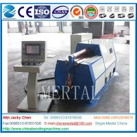 Wholesale MCLW12XNC-20*2000 Special Cone Four Roller Rollinging Machine from china suppliers