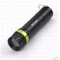Wholesale Aluminum Alloy 130Lm CREE LED Flashlight Torch With Adjustable Focus Zoom from china suppliers