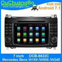 Wholesale Ouchuangbo Car Radio Audio Stereo 2G RAM android 7.1 for Mercedes Benz W169 W906 W245 support bluetooth music USB GPS from china suppliers