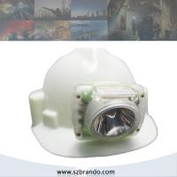 Buy cheap led headlamp waterproof rechargable 10000 lumens with OLED display Battery capacity from wholesalers