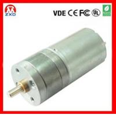 China 25mm dc geared motor 6V 12V 24V For game machine on sale