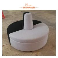 Wholesale Hotel Restaurant Furniture Leather Sofa Booth Round Shape 3 - 5 Years Guarantee from china suppliers