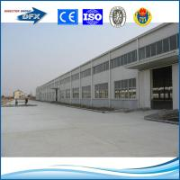 Quality Low cost pre engineering prefabricated steel structure construction building for sale