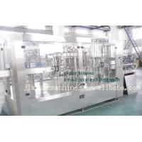 Wholesale Automatic Mineral Water Juice Gas Bevarage Filling And Sealing Machine from china suppliers