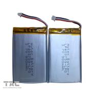 Wholesale Lithium Polymer Battery Pack   LP403759 3.7v 900mah for Table PC from china suppliers