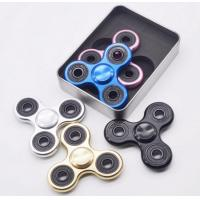 Quality Golden Metal Alloy Hand Spinner Toy With Hybrid Ceramic Bearing for sale