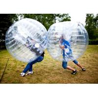 Wholesale 1.5m transparent bubble football Ball for football field from china suppliers