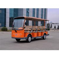 Buy cheap 14 Person Electric Sightseeing Car , Tourist Electric Shuttle Bus Battery Powered from wholesalers