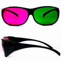 Wholesale Promotional Anaglyph 3-D Glasses, Available in Various Frame Colors from china suppliers