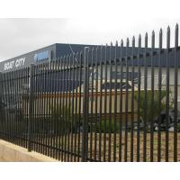 Buy cheap wholesale picket fence used from fence manufacturer, steel grills fence design from wholesalers
