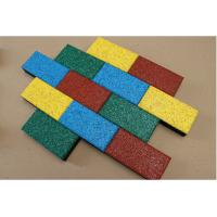 Wholesale 50*50cm Rubber Sports Flooring Thickness15-40mm Weight 3.6kg-8.4kg from china suppliers