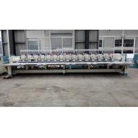 Wholesale Flat / Hat Double Sequin Embroidery Machine For Shirts With 850 RPM Speed from china suppliers