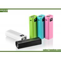 Wholesale Portable USB 5V / 1A 2600mAh 18650 Power Bank With LED Flash Light from china suppliers