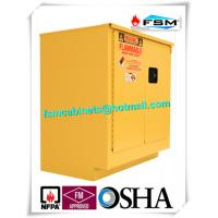 Wholesale Steel Flammable Safety Cabinets With Self Latch Sliding Door For Gasoline / Pesticide from china suppliers