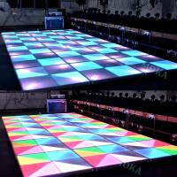Wholesale New design indoor and outdoor Dance Floor LED Screen ,hot sales disco bar floor LED video wall/LED dispaly from china suppliers