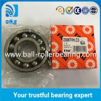 Wholesale Nylon Cage Double Row FAG Self-aligning Ball Bearing 2306-TVH C3 from china suppliers