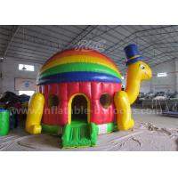 Wholesale Customized Inflatable Bouncy Castle / Colorful Inflatable Turtle Jumping Bouncer from china suppliers