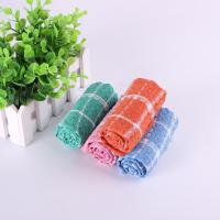 Wholesale Household 35.5*35.5cm Usage Checker Kitchen Tea Towels With Custom Microfiber Printed from china suppliers