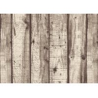 Quality Wood Pattern American Natural Style 3D Home Wallpaper PVC For Living Room for sale