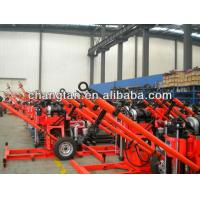 Wholesale 150m SPT Portable Core Geotech Engineering Drilling Rig 2 Wheels Trailer from china suppliers
