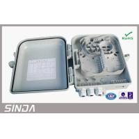 Wholesale Airproof Fiber Optic ODF / 12 port optical distribution box PC Material from china suppliers
