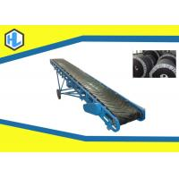 Wholesale Telescopic Inclined Cleated Belt Conveyor Machine 10 To 26 ° Dip Angle from china suppliers