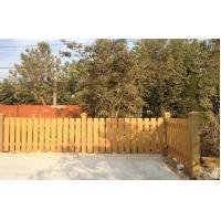 Wholesale Eco-friendly WPC Garden Fence Durable For Courtyard With Smooth Surface from china suppliers