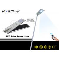 Wholesale 6500-7000 K LED Solar Street Lights , Plaza Super Bright Solar LED Lights from china suppliers