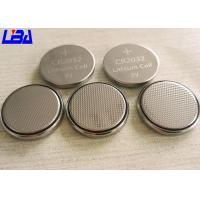 Wholesale Eco - Friendly Audio Equipment CR2032 Lithium Battery Button Cell 3V 240mAh from china suppliers