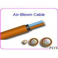 Wholesale High Density 24 - 144 Core Air Blown Fiber Optic Cable For Outdoor FTTH from china suppliers