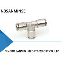 Wholesale MPUT Pneumatic Brass Air Hose Fittings , Pneumatic Brass Fitting Tube Fitting Sanmin from china suppliers