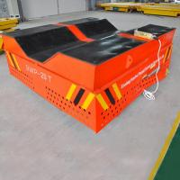 Wholesale V-deck Groove Cement Plant Steerable Trackless Vehicle from china suppliers