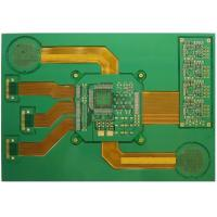 Wholesale Rigid Flex Circuit Board 8- Layer With 0.3mm / 1.6mm Thickness Green Solder Mask CE ROHS from china suppliers