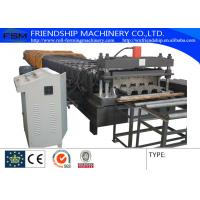 Wholesale Automatic 28 Stations And 10T Manual Decoiler Roll Forming Machine With 1.5MM - 2.5MM from china suppliers