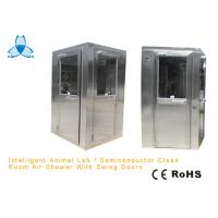 Wholesale GMP Pharmaceutical Stainless Steel Air Shower Room With Three Side Blowing AC380V from china suppliers
