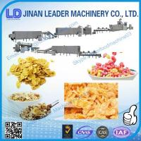 Wholesale Automatic maize flakes feed double screw extruder making machine from china suppliers