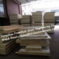 Wholesale PU Camlock Sandwich Panels With Effective Width 1150mm , Thickness 50mm from china suppliers