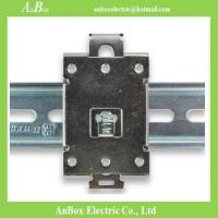 Buy cheap 35mm DIN rail bracket snaps SRR electrical installation heat sink DIN Rail Mounting plates from wholesalers