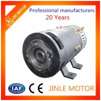 Wholesale 164mm 24 Volt Direct Drive Motors With 100% Copper Coil , Carbon Brush DC Motor from china suppliers